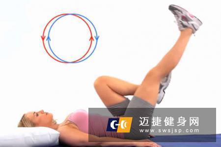 空中蹬车腹肌锻炼方法是什么?空中自行车标准动作是什么?锻炼方法是什么。