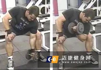 健身房肱二头肌锻炼方法 强壮手臂一步到位