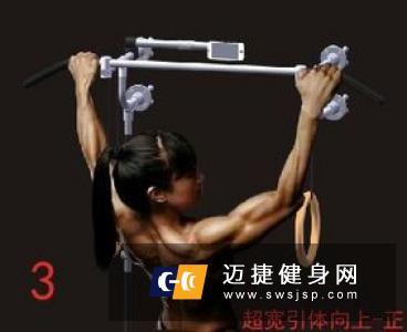 锻炼背肌最有效的方法 引体向上是其中一个
