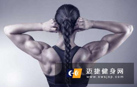 找准练背训练感觉背部肌肉会练的更好