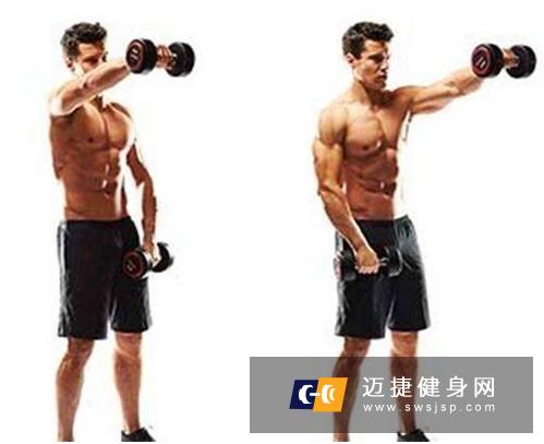 高效锻炼肩部训练 4个动作每周1-2次